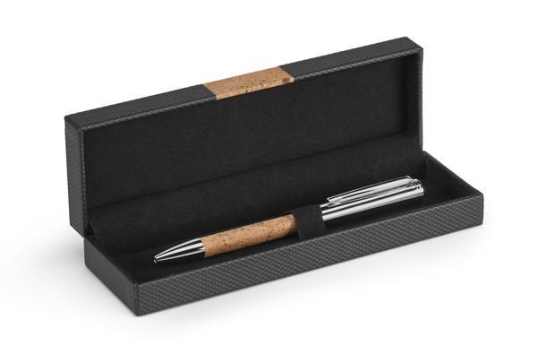 CORK. Bolígrafo de corcho y metal