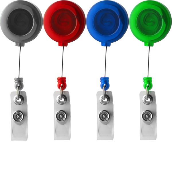 ABS pass holder - Light Green