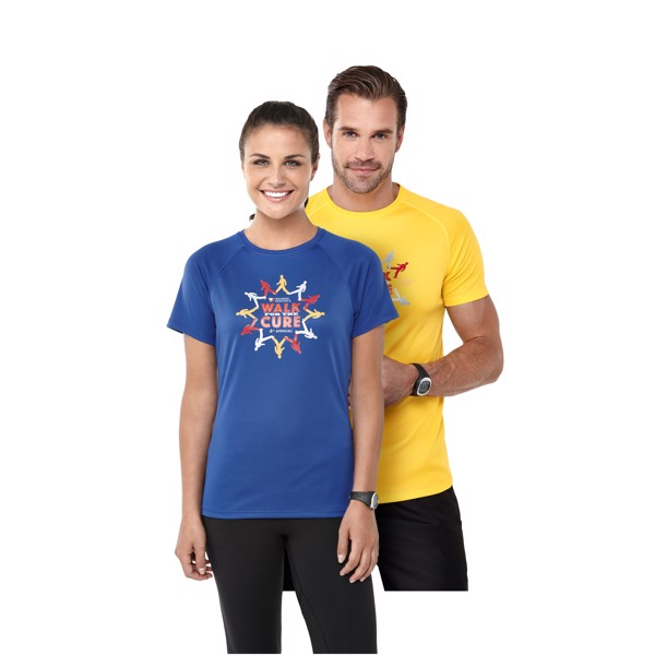 Dámské Tričko Niagara s krátkým rukávem, cool fit - Modrá / XS