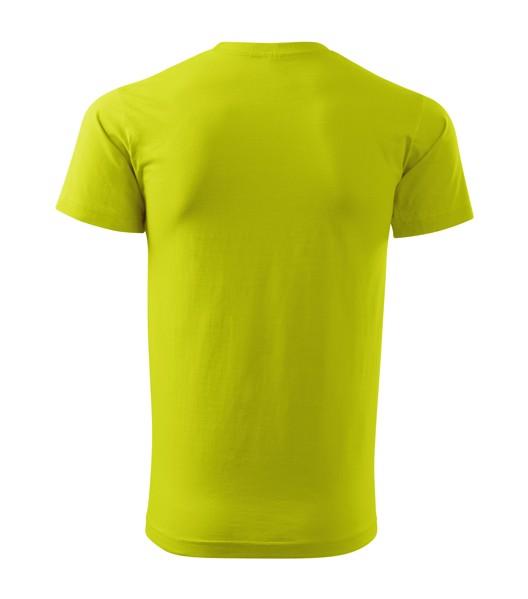 T-shirt men's Malfini Basic - Lime Punch / M