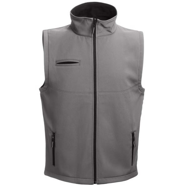 THC BAKU. Unisex softshell vest - Grey / XXL