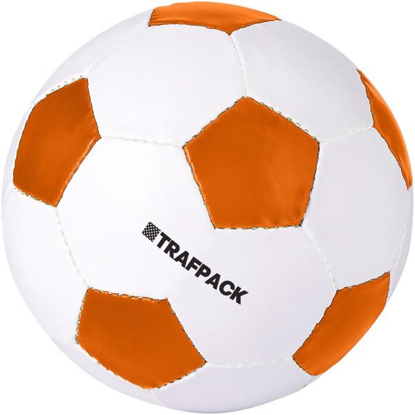 Curve size 5 football - Orange / White