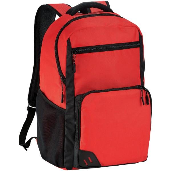 """Rush 15,6"""" Laptop-Rucksack PVC frei - Rot"""