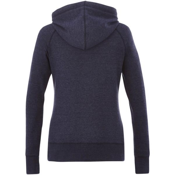 Groundie full zip ladies hoodie - Heather blue / L