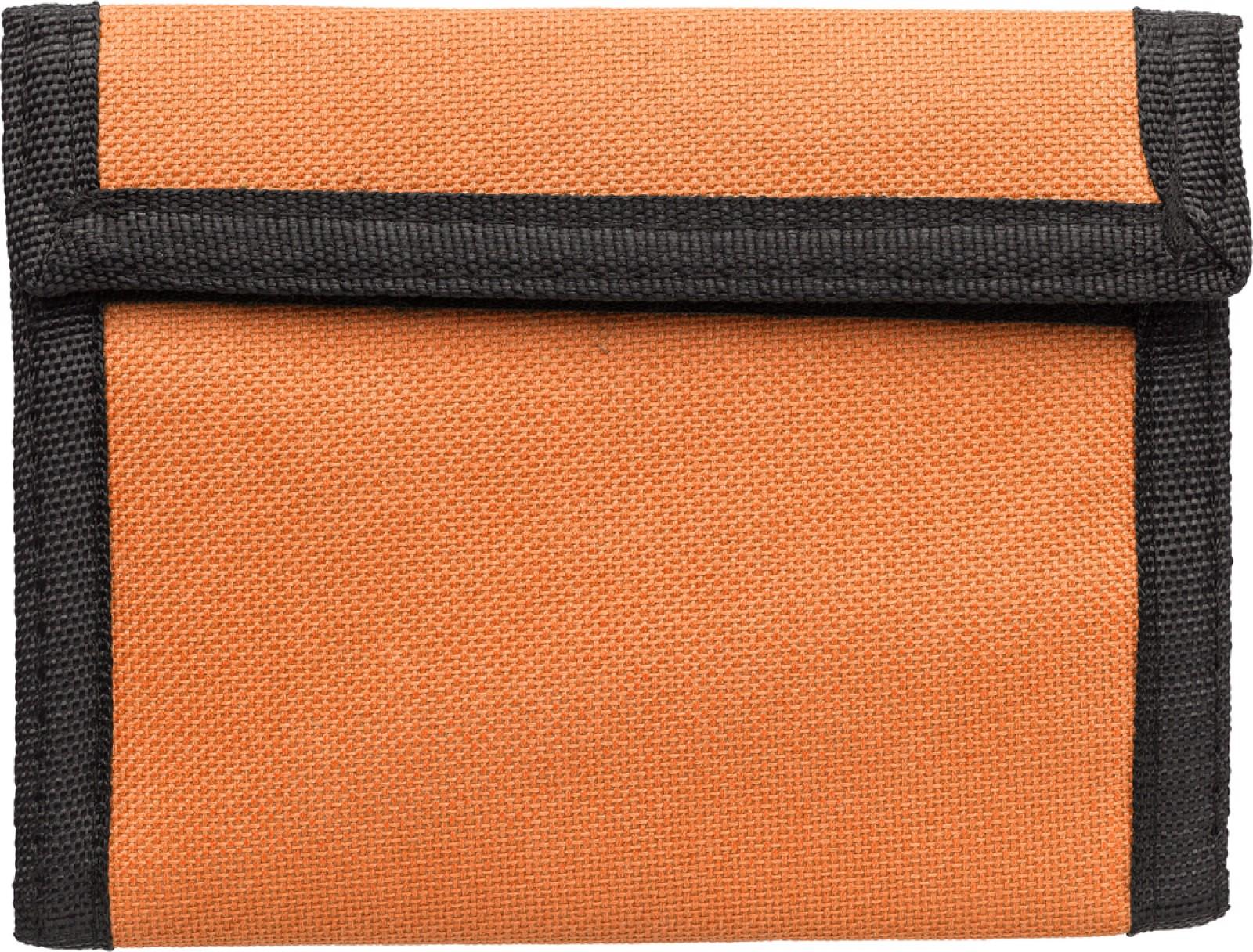 Polyester (190T + 600D) wallet - Orange