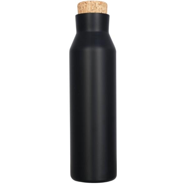 "Botella de 590 ml con aislamiento de cobre al vacío ""Norse"" - Negro intenso"