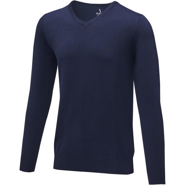 Stanton men's v-neck pullover - Navy / 3XL