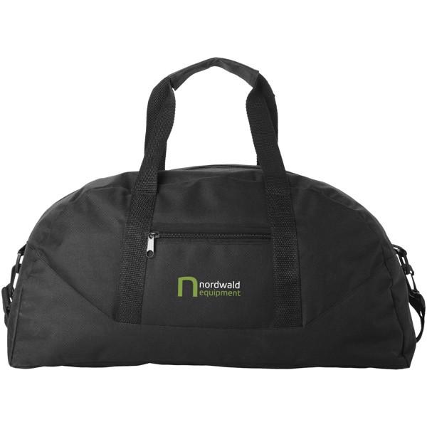 Stadium duffel bag - Solid black
