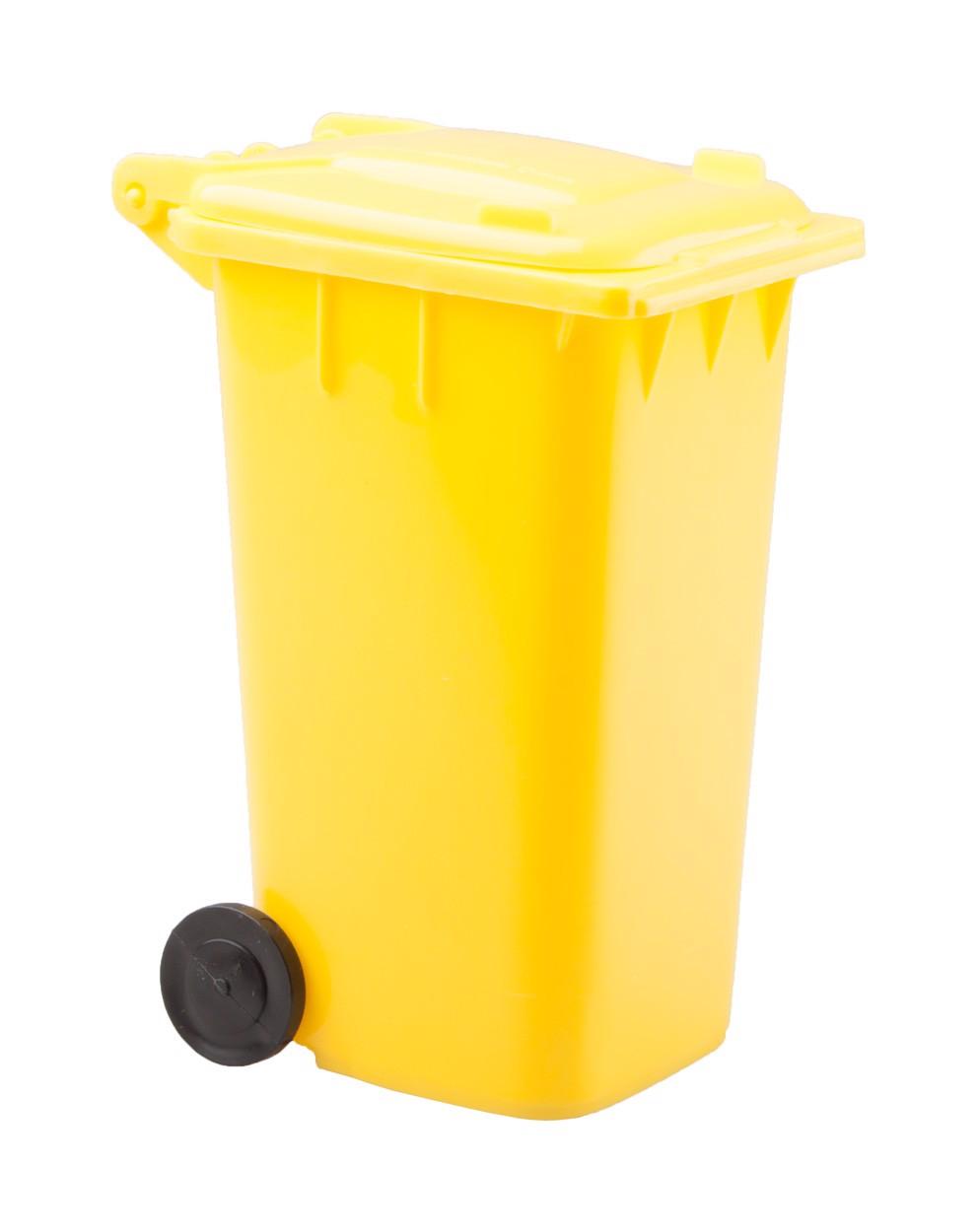 Stojan Na Psací Potřeby Dustbin - Žlutá