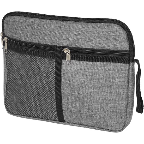 Hoss toiletry pouch - Heather medium grey