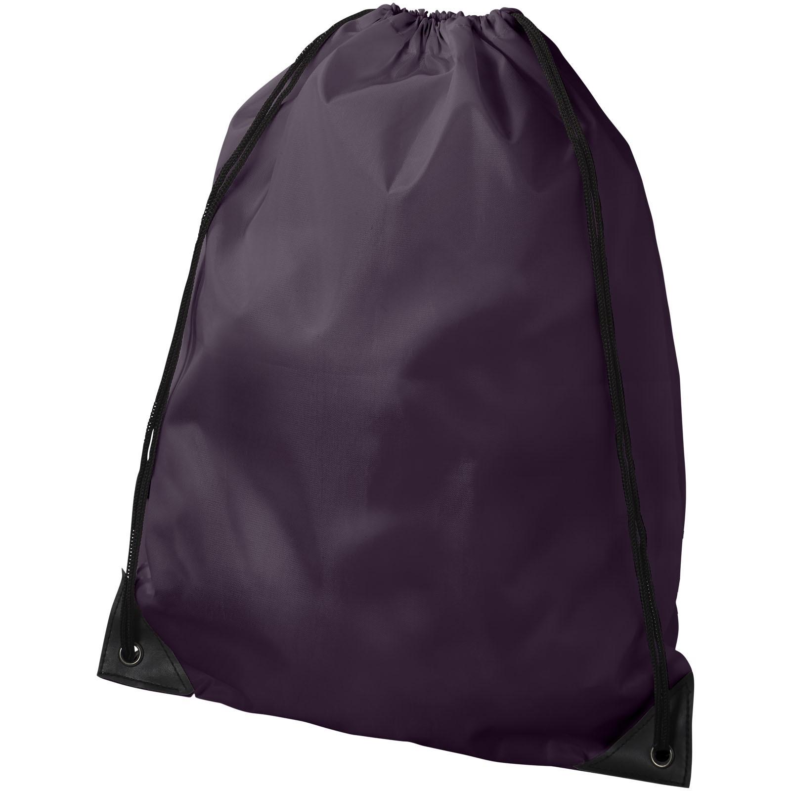 Oriole premium drawstring backpack - Plum