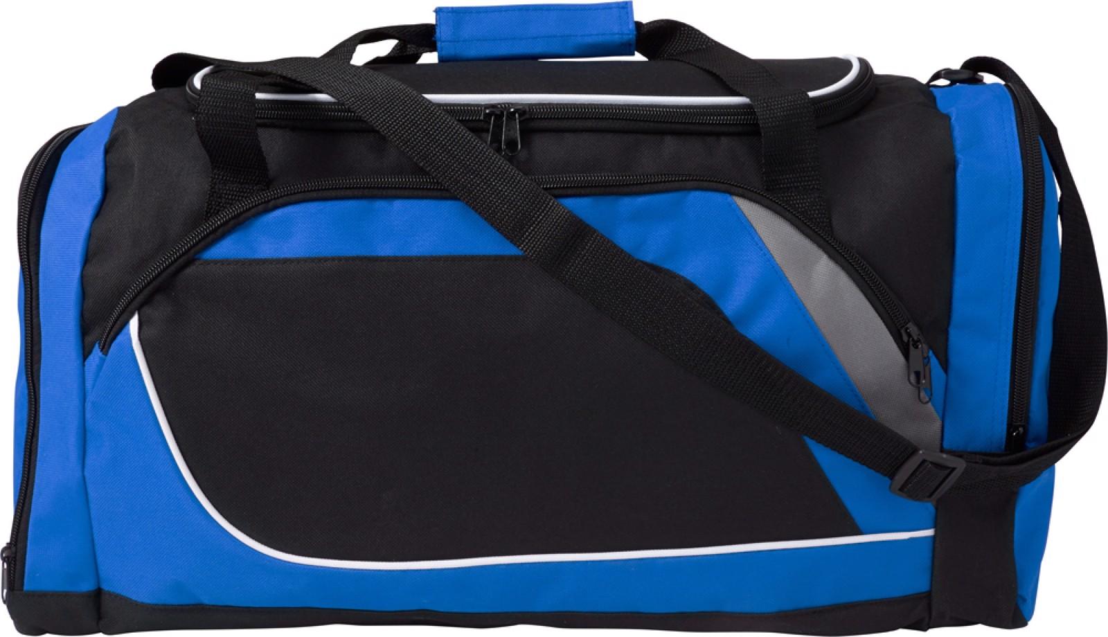 Polyester (600D) sports bag - Cobalt Blue