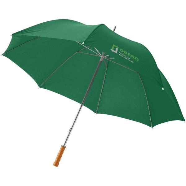 """30"""" golfový deštník Karl s dřevěnou rukojetí - Zelená"""