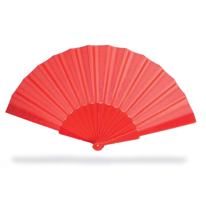 Manual hand fan Fanny - Red