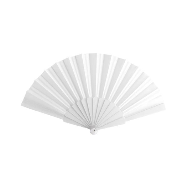 Hand Fan Tela - White