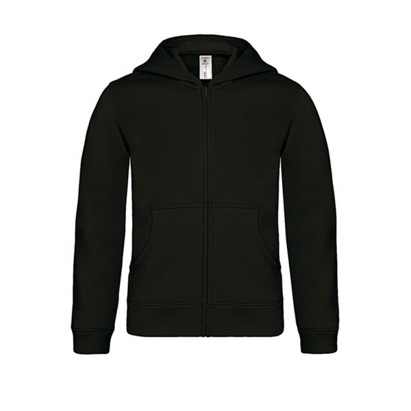 Hooded sweat kids - Black / XS