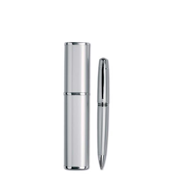 Kovové kuličkové pero Oregon - silver