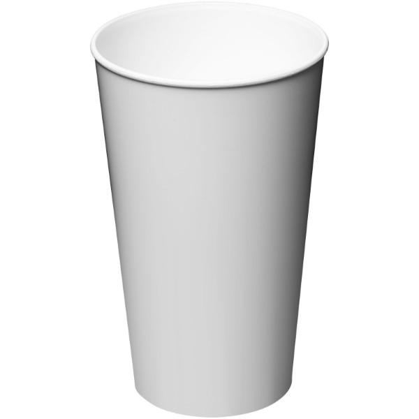 Arena 375 ml plastic tumbler - White