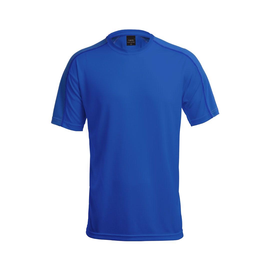 T-Shirt Adulto Tecnic Dinamic - Azul / XXL