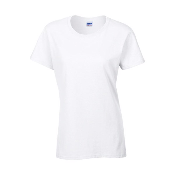 Damen T-Shirt 185 g/m² Ladies Heavy Cotton 5000L - White / XXL
