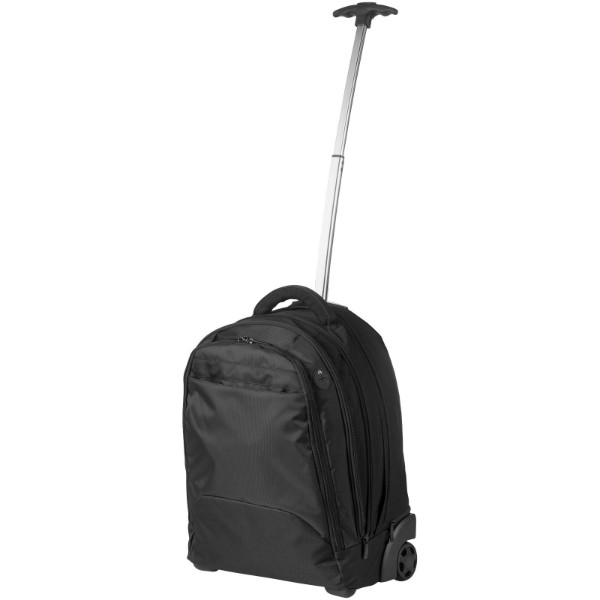 "Lyns 17"" laptop trolley backpack"