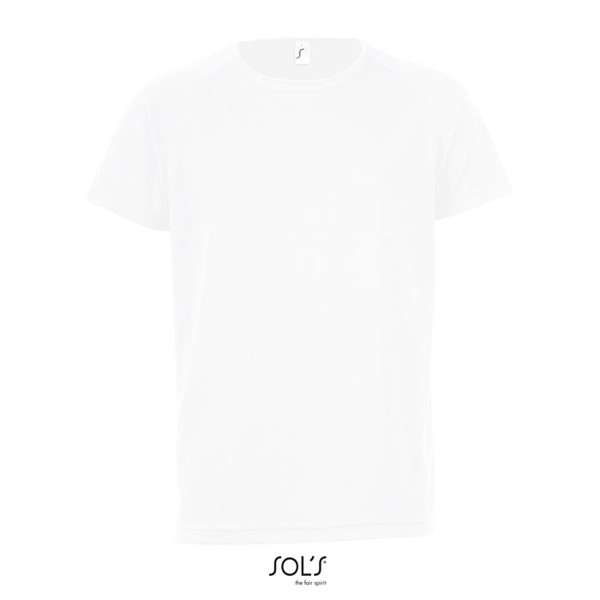 SPORTY-KIDS TSHIRT-140g Sporty Kids - white / XXL