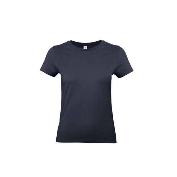 T-shirt female 185 g/m² #E190 /Women T-Shirt - Navy / XXL