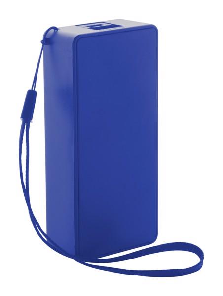 Usb Power Banka Nibbler - Modrá