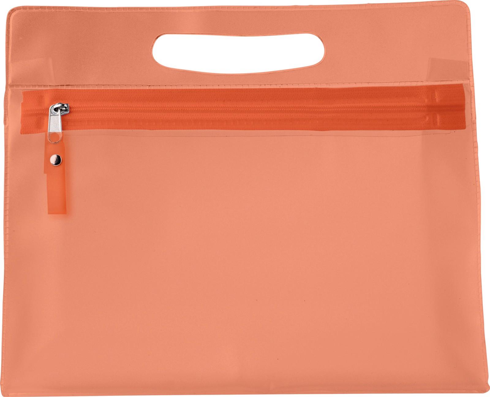 PVC  toilet bag - Orange
