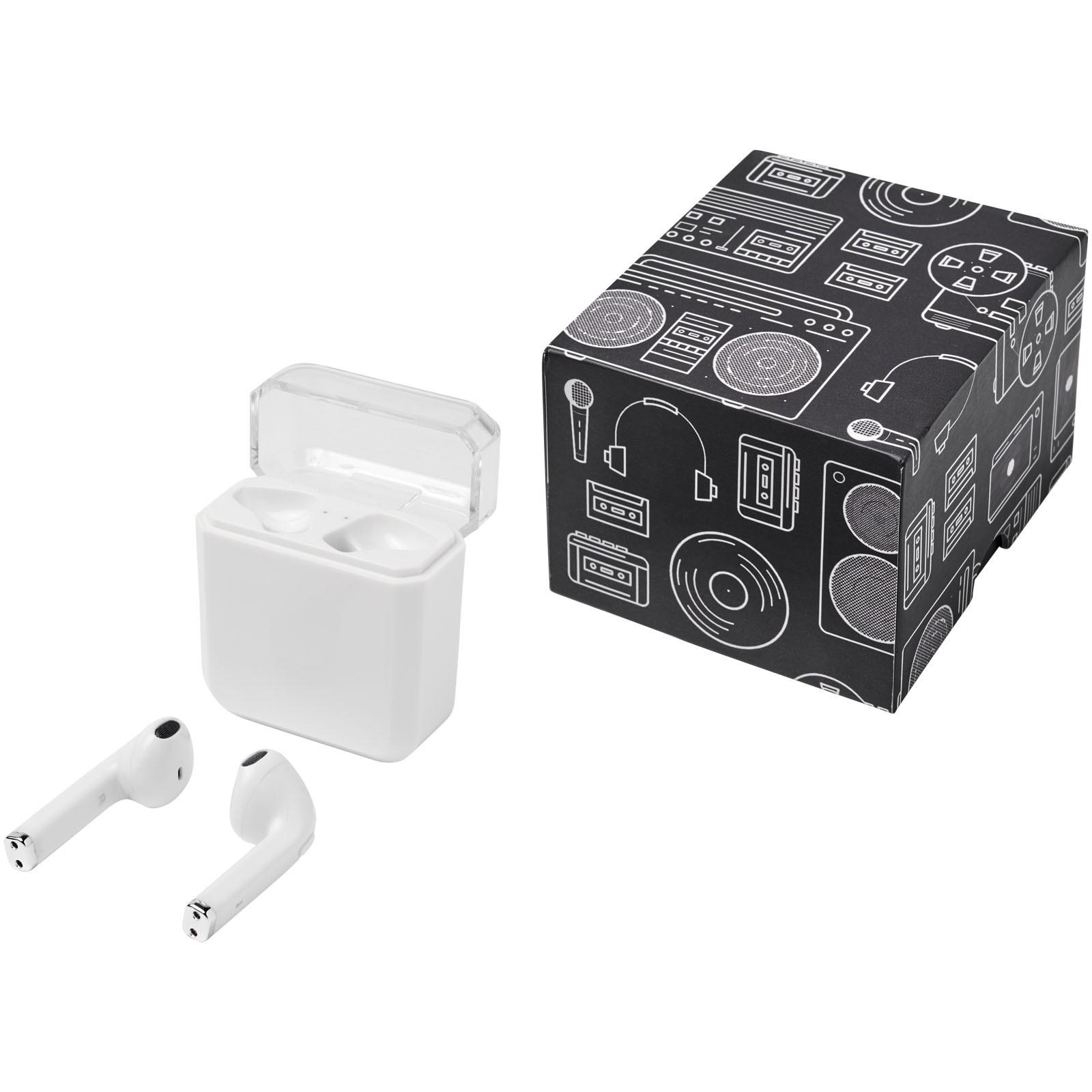 Braavos True Wireless auto pair earbuds - White