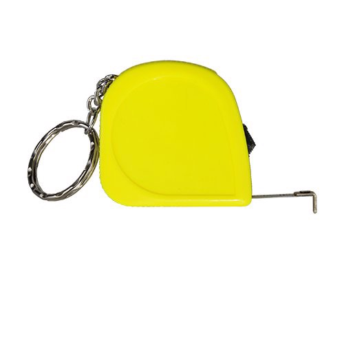 Miarka zwijana 2 m brelok Just - Żółty