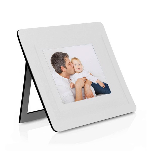 Mousepad Photo Frame Pictium - White