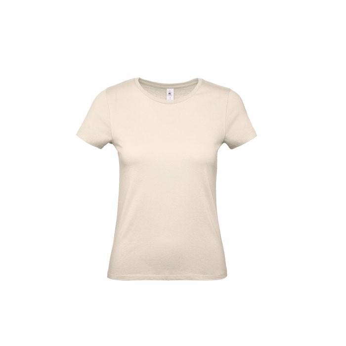 T-shirt female 145 g/m² #E150 /Women T-Shirt - Natural / S