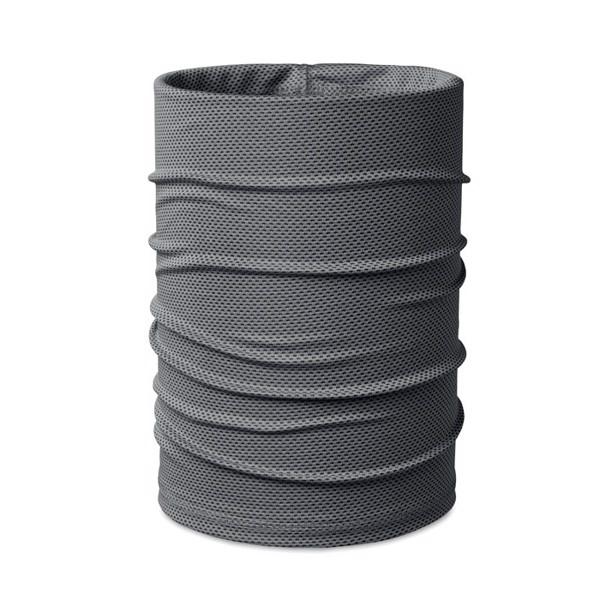 Cooling sport bandana - szary