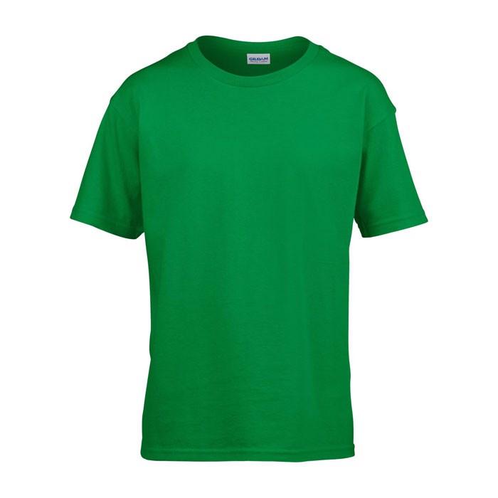 Kids t-shirt 150 g/m² Kids Ring Spun T-Shirt 64000B - Irish Green / M