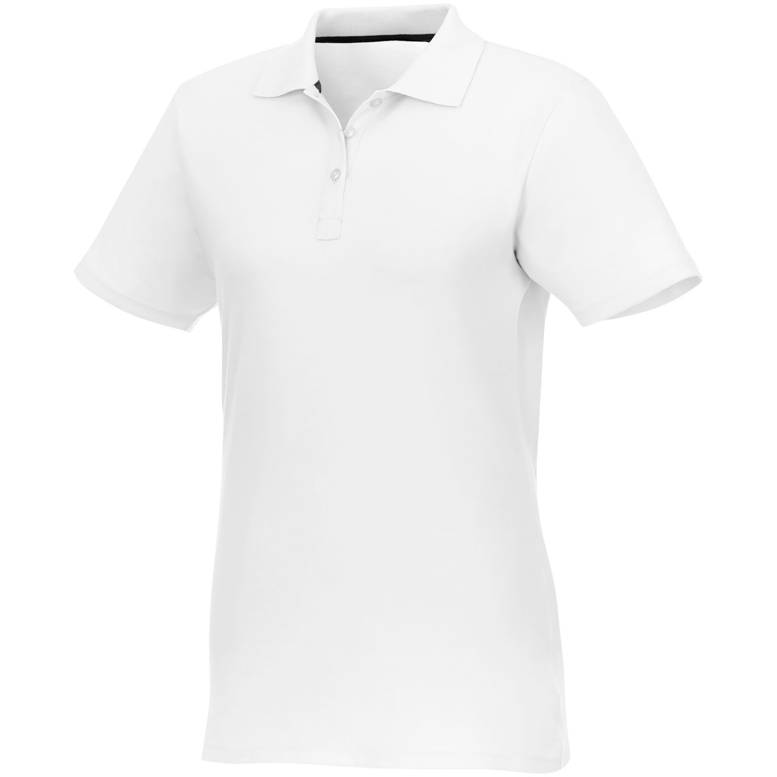 Helios short sleeve women's polo - White / XS