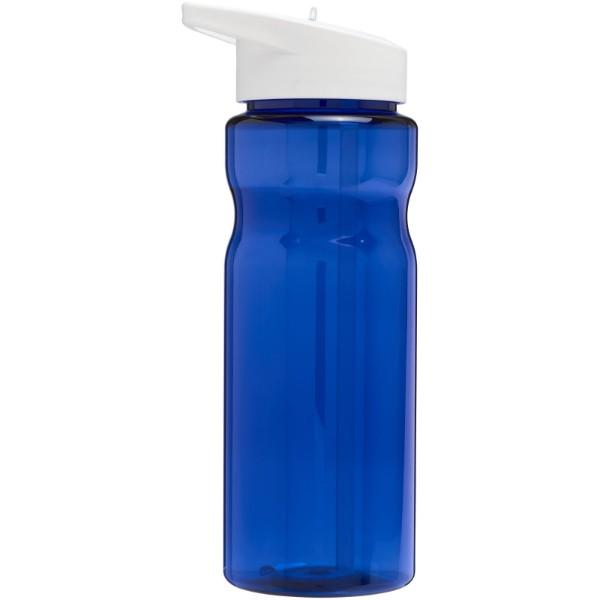 H2O Base® 650 ml spout lid sport bottle - Blue / White