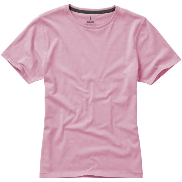 Nanaimo short sleeve women's T-shirt - Light pink / S
