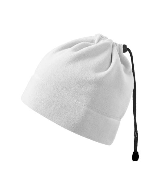 Fleece Hat unisex Malfini Practic - White / uni