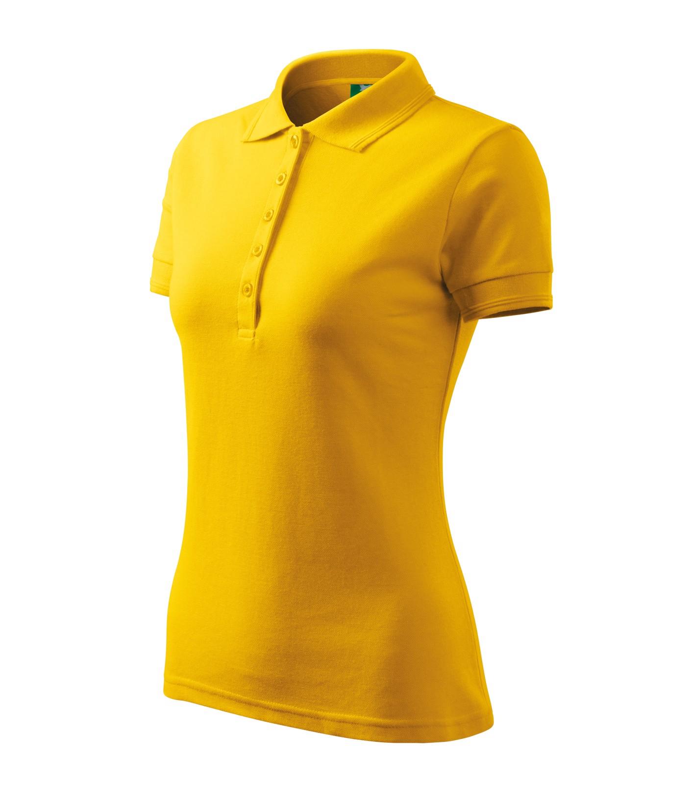 Polokošile dámská Malfini Pique Polo - Žlutá / 2XL