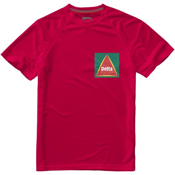 Serve – T-Shirt cool Fit für Herren - Rot / S