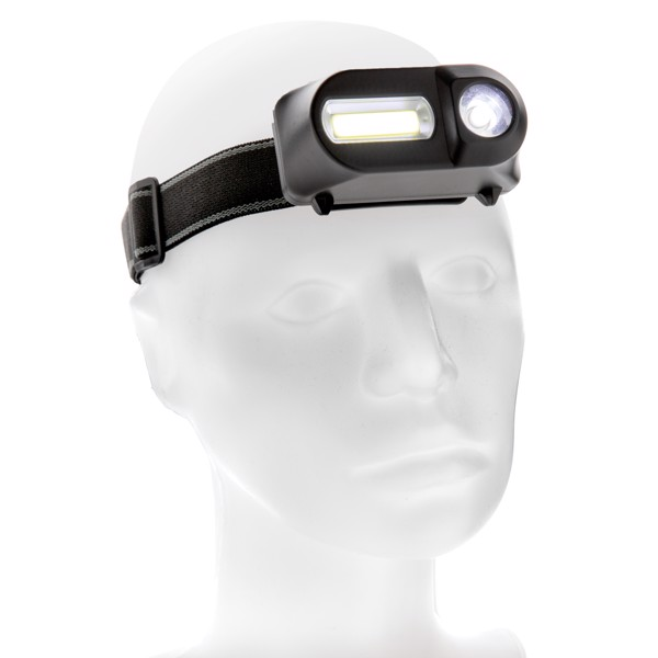 Čelovka s LED a COB