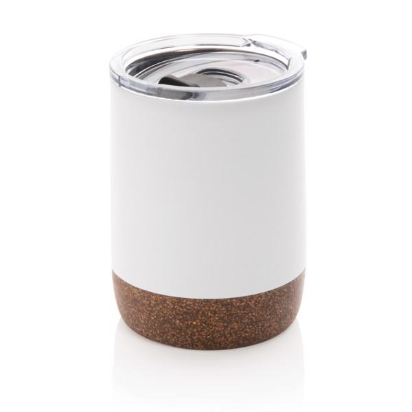 Parafa kisméretű vákuum kávésbögre - Fehér