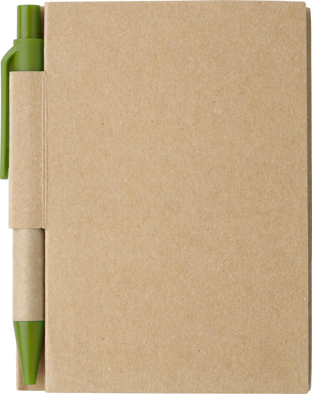 Paper notebook - Light Green