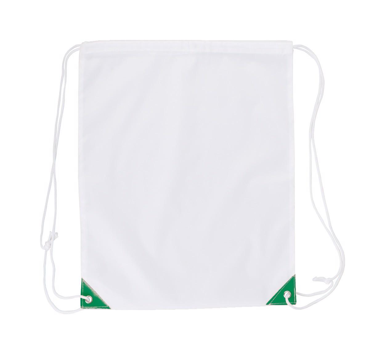 Drawstring Bag Nofler - White / Green