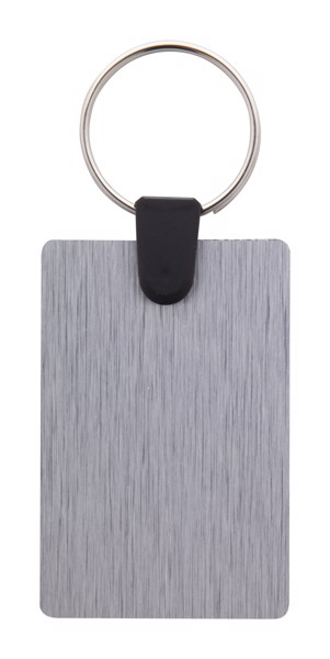 Obesek za ključe Aluudy D - Silver