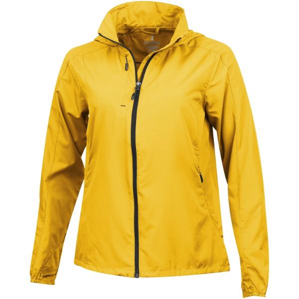 Lehká dámská bunda Flint - Žlutá / XL