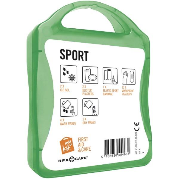 Lékarnička pro sportovce - Zelená