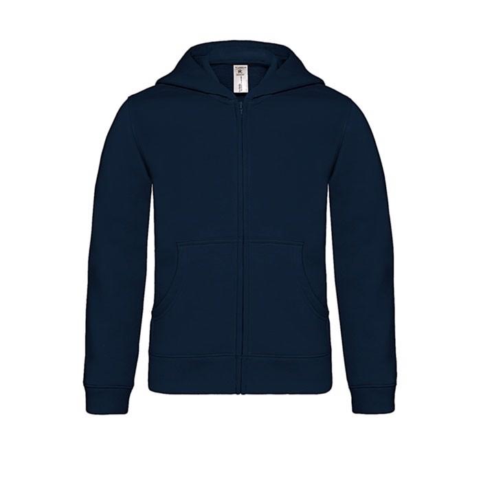 Kinder Kapuzen Sweatshirt - Navy / M