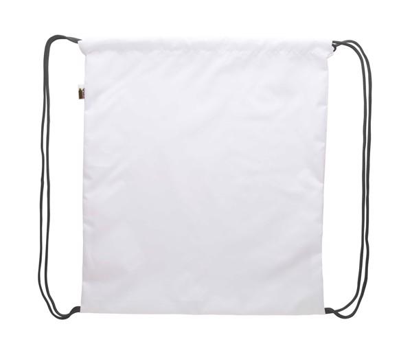 Custom Drawstring Bag CreaDraw RPET - Black / White